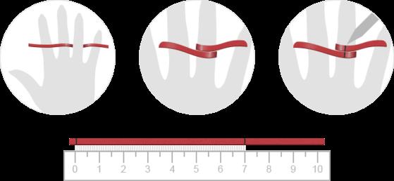 измерение размера пальца