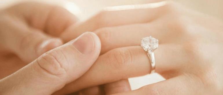 как измерить размер пальца для кольца