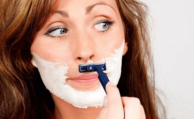 как быстро избавиться от усов девушке