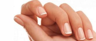 как стричь ногти на руках