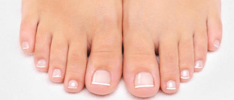 как красиво стричь ногти на ногах
