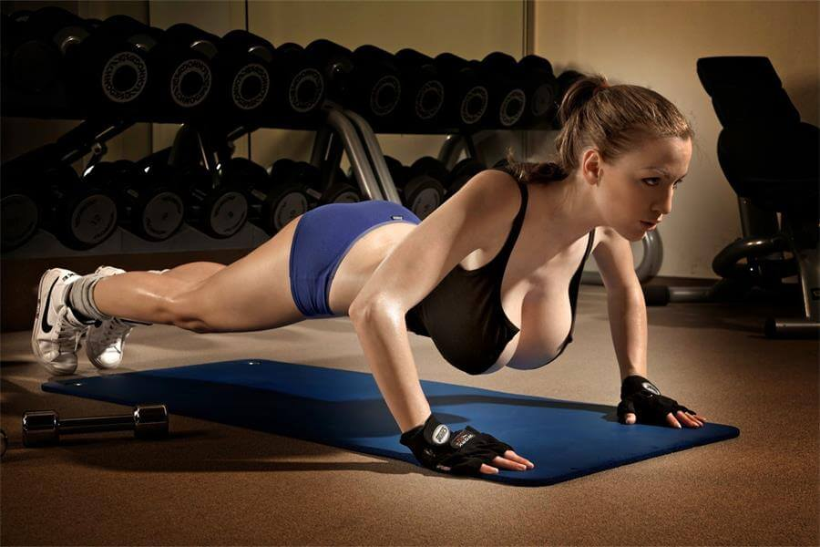 упражнения для увеличить грудь