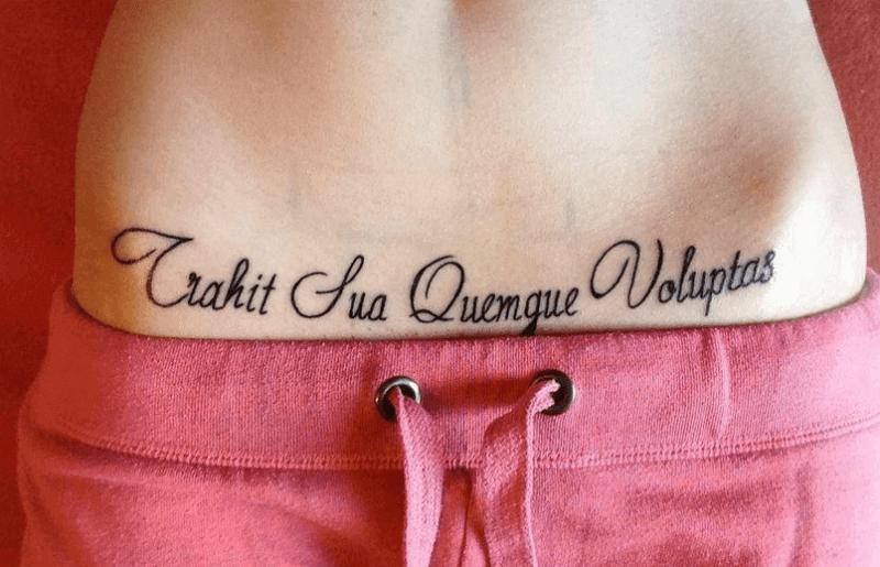 фразы для тату со смыслом для девушек