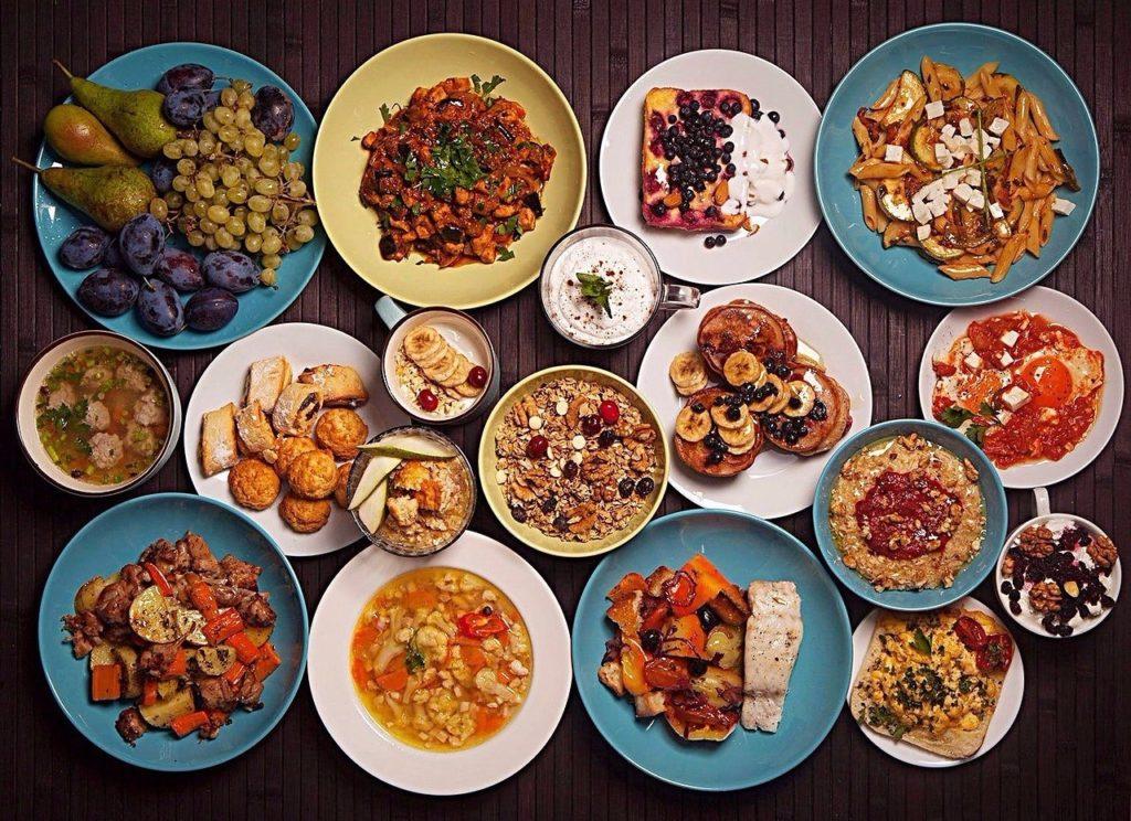 таблица калорий готовых блюд