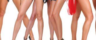как сделать ноги стройными и худыми