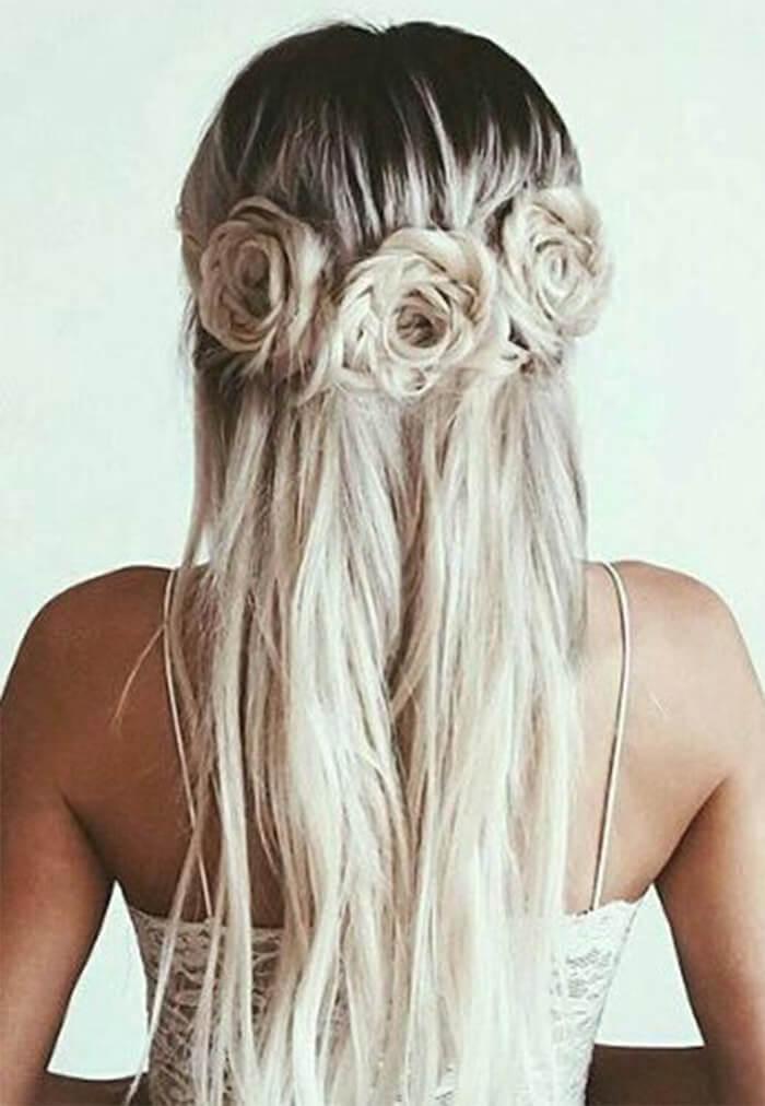 прически на средние волосы фото