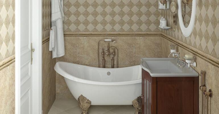 Ванная комната в английском стиле