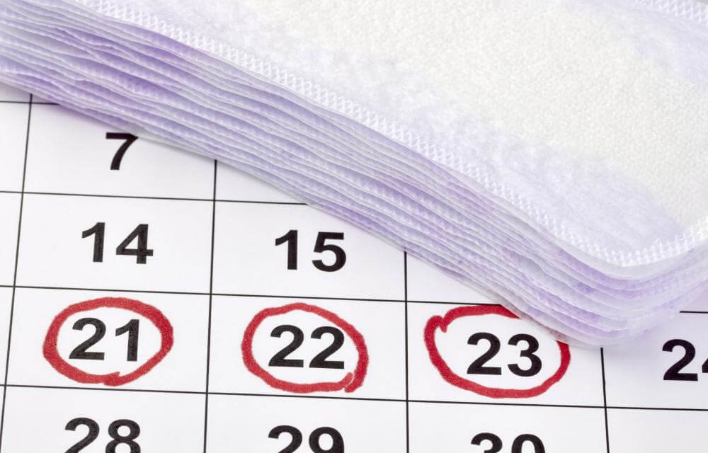 месячные на календаре